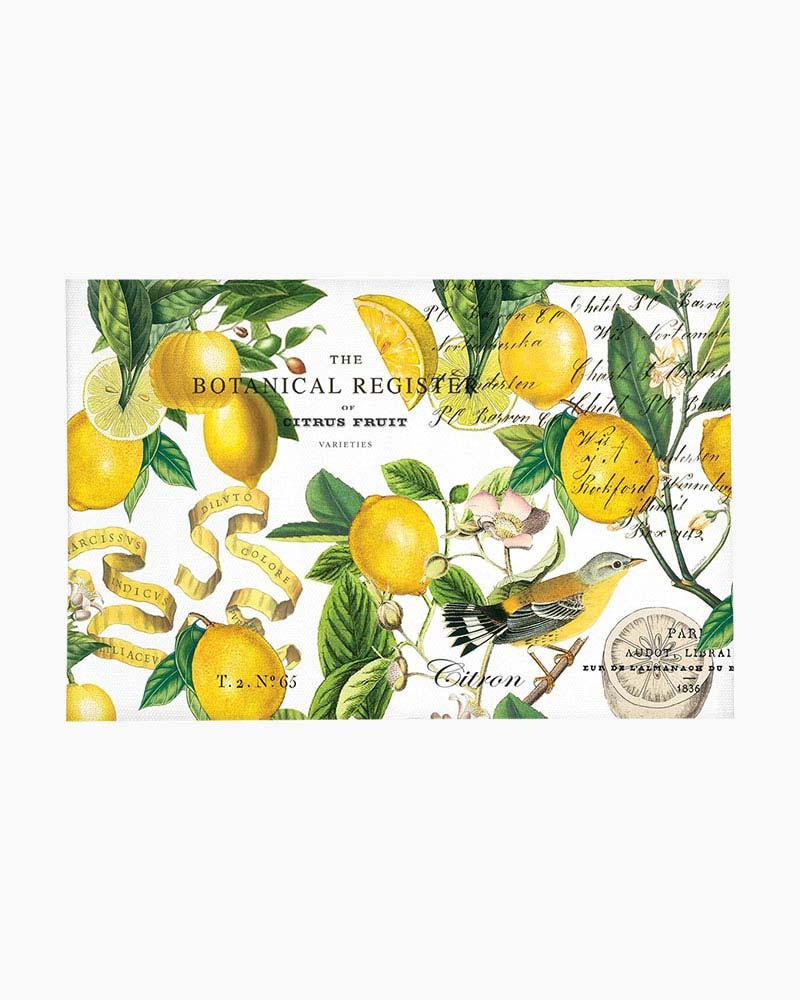 Lemon Basil Scatter Rug