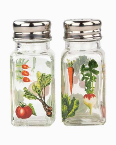Vegetable Kingdom Salt and Pepper Shaker