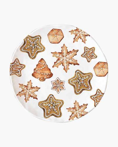 Holiday Treats Melamine Cookie Plate
