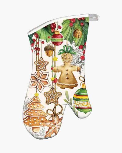 Holiday Treats Oven Mitt