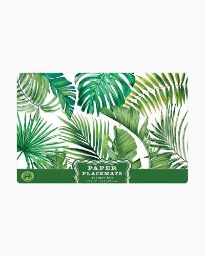 Palm Breeze Paper Placemats