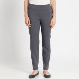 Ruby Road Stretch Twill Pants in Grey