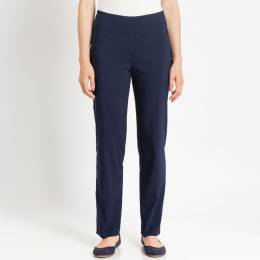 Ruby Road Stretch Twill Pants in Navy Blue