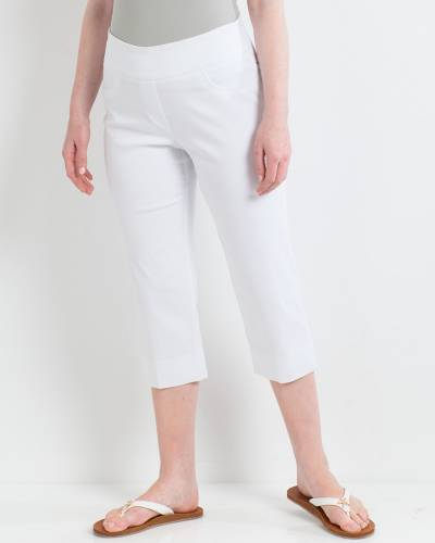 Pull-On Capri Pants