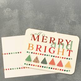 Expressive Design Group All is Merry and Bright Boxed Holiday Cards