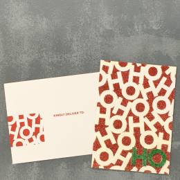 Expressive Design Group Ho Ho Ho Boxed Holiday Cards