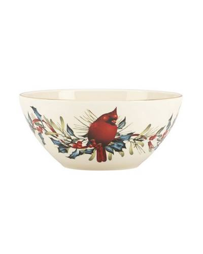 7 Winter Greetings Bowl