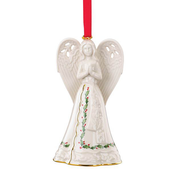 Lenox Holiday Angel Bell Ornament