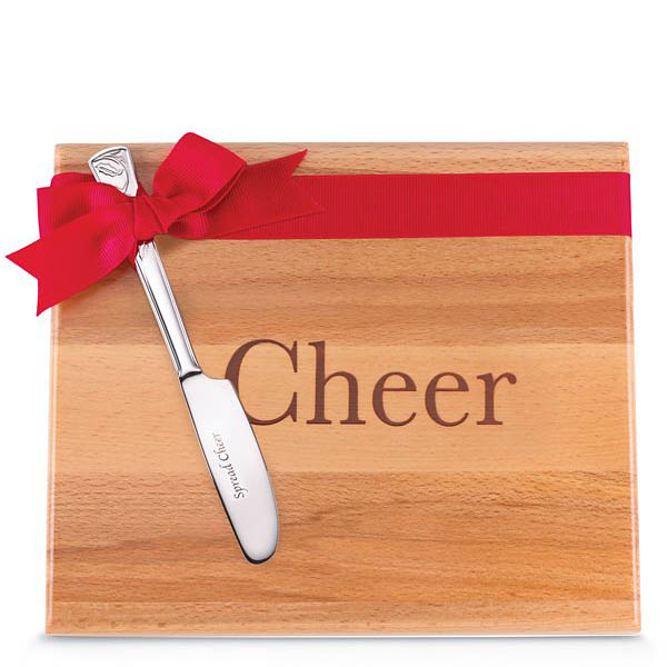Lenox Cheer Cheese Board and Spreader Set