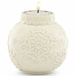 Lenox Snowflake Ball Ornament Votive Candle Holder