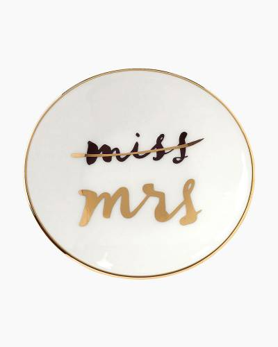 Miss to Mrs. Ring Dish