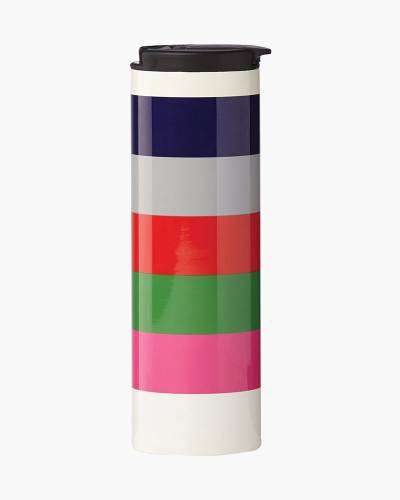 Rainbow Stripes Tumbler