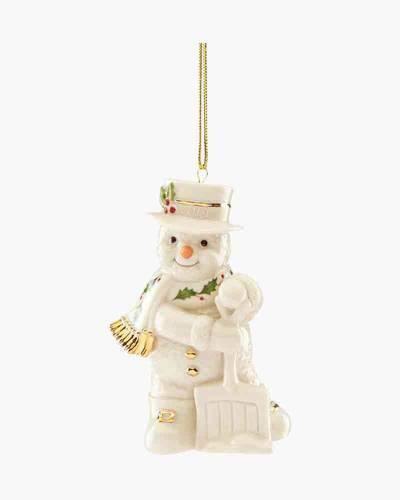 Shoveling Snowman 2019 Ornament