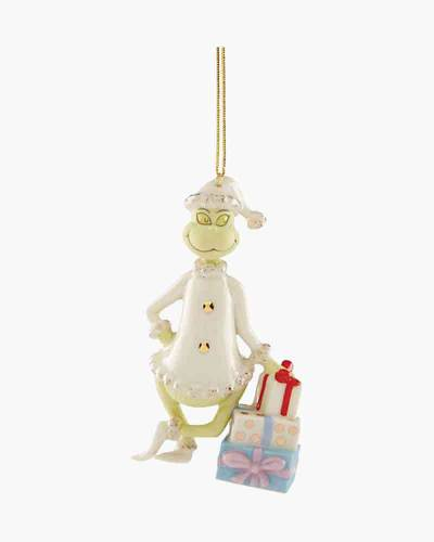 Grinchy Gifts Ornament