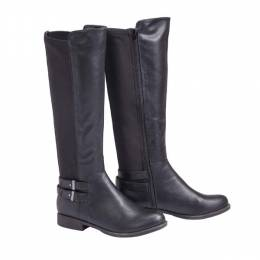 Bamboo Riding Boot with Stretch Back