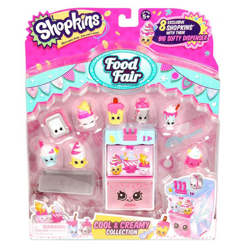 Shopkins Shopkins Food Fair Pack - Assorted