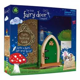 The Irish Fairy Door Company Green Irish Fairy Door