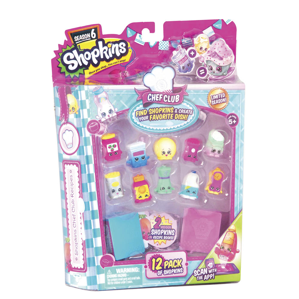 Shopkins Shopkins 12-Pack (Season 6)