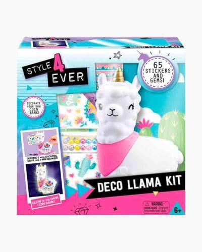 Deco Llama Bank Art Kit