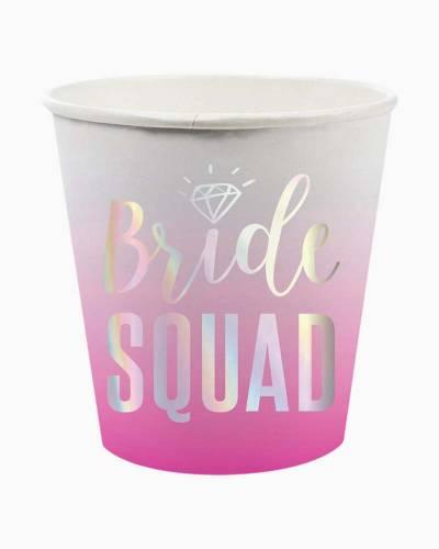 Bride Squad Paper Shot Cups