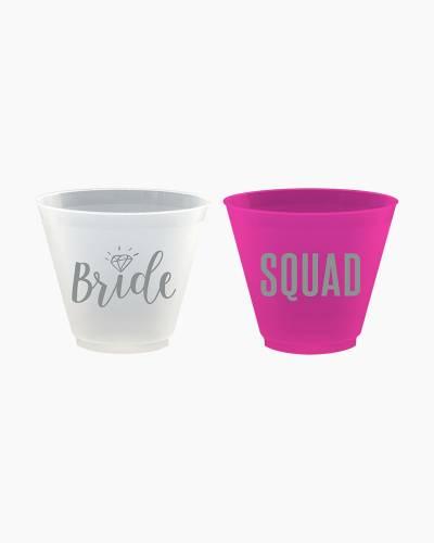 Bride Squad Frost Flex Cups Set