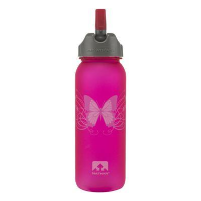 Butterfly Flip Straw Tritan Bottle