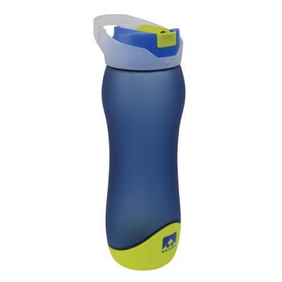 Natural Blue Streamline Frosted Tritan Bottle