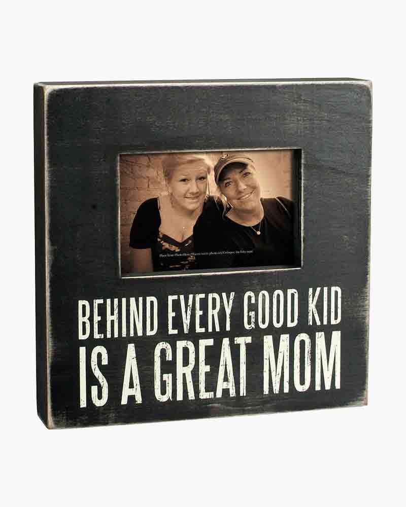 Primitives by Kathy Great Mom Wooden Box Frame