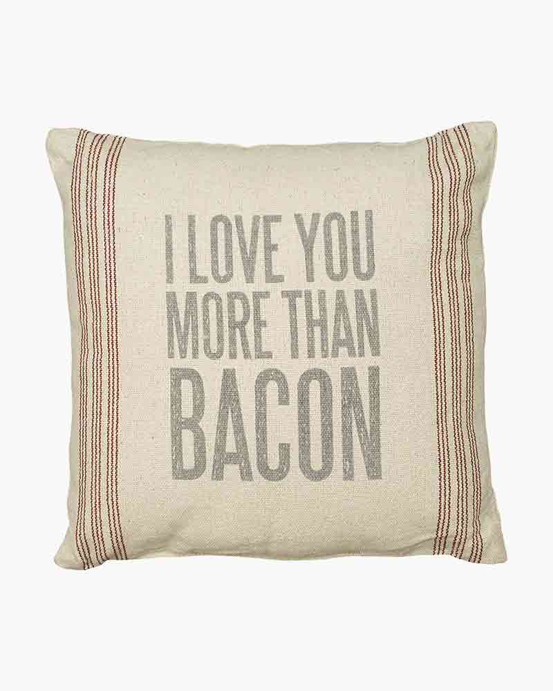 Primitives by Kathy More Than Bacon Pillow