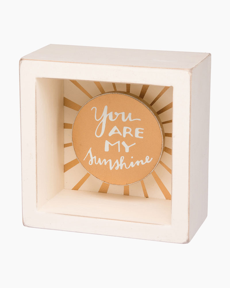 Primitives by Kathy My Sunshine Wooden Box Sign