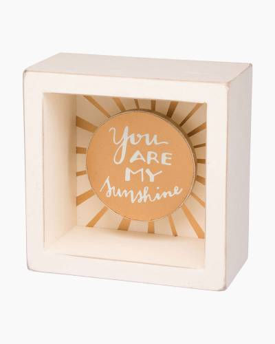 My Sunshine Wooden Box Sign