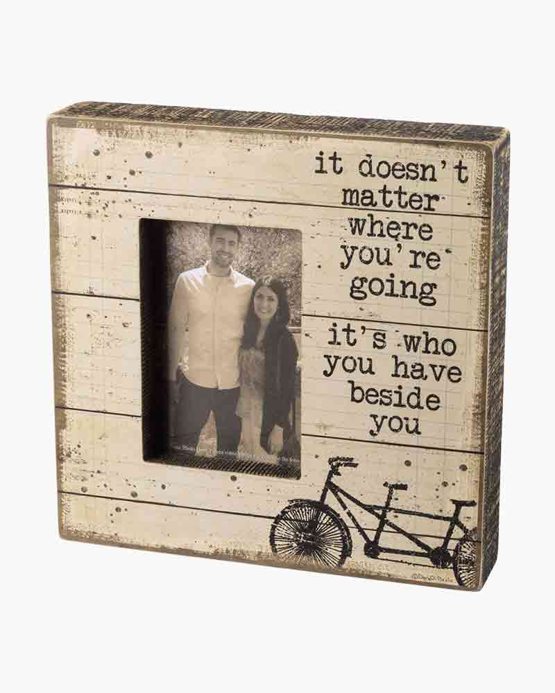 Primitives by Kathy Beside You Wooden Box Frame