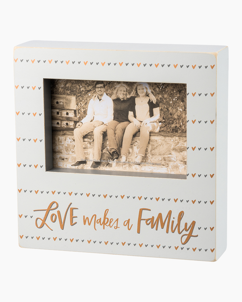 Primitives by Kathy Love Makes a Family Wooden Box Frame