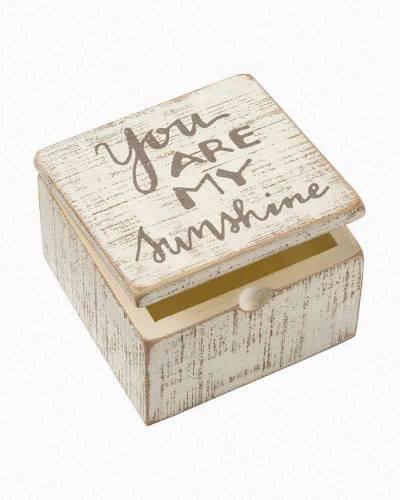 My Sunshine Wooden Slat Box
