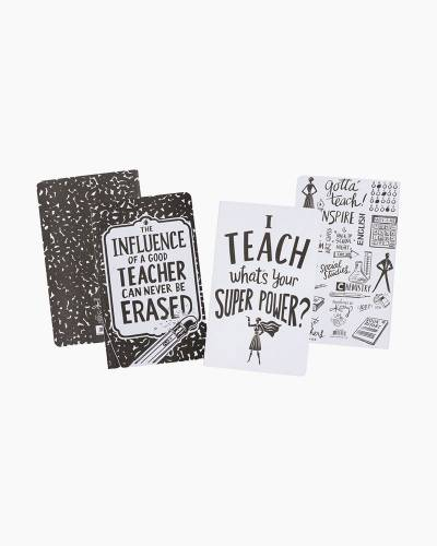 Super Teacher Large Notebook Set