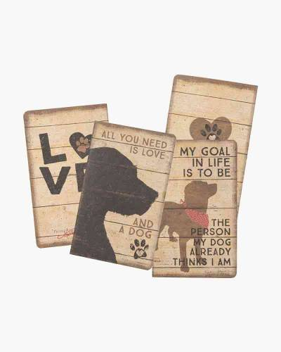 Dog Love Large Notebook Set
