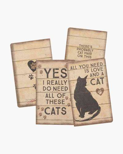 Cat Love Large Notebook Set
