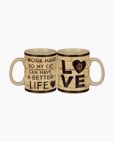 Cat Better Life Mug