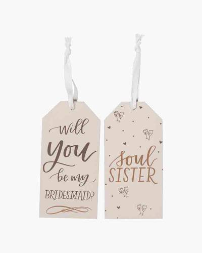 Will You Be My Bridesmaid? Bottle Tag