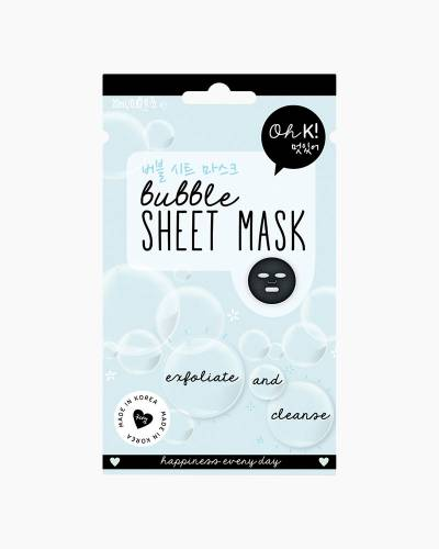 Bubble Sheet Face Mask