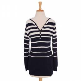 Sweaters for Less Striped Hooded Sweater