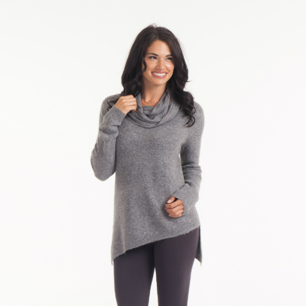 Sisters Cowl Neck Sweater Tunic