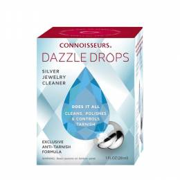 Connoisseurs Silver Dazzle Drops Jewelry Cleaning Kit