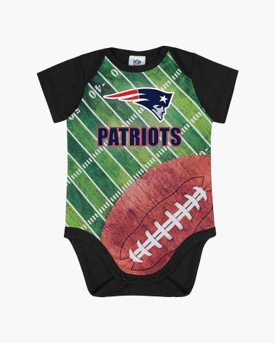New England Patriots Baby Football Field Crawler