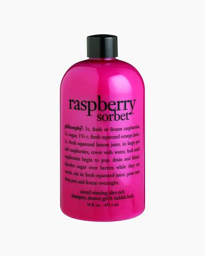 Raspberry Sorbet Shampoo, Shower Gel, and Bubble Bath