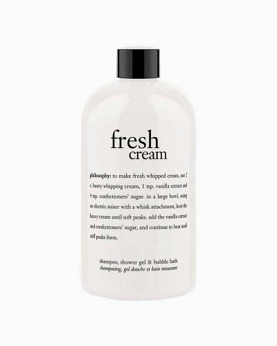 Fresh Cream Shampoo, Shower Gel, and Bubble Bath