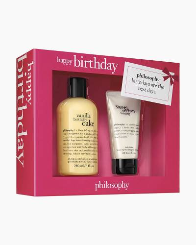 Happy Birthday Shower Gel and Body Lotion Set
