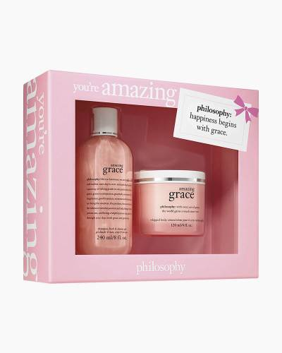 Amazing Grace Shower Gel and Body Creme Set