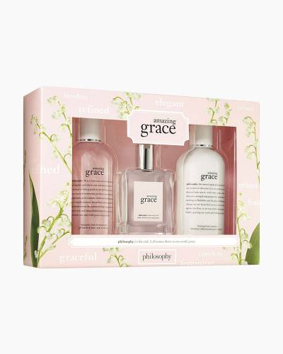 Amazing Grace Three-Piece Bath and Body Gift Set