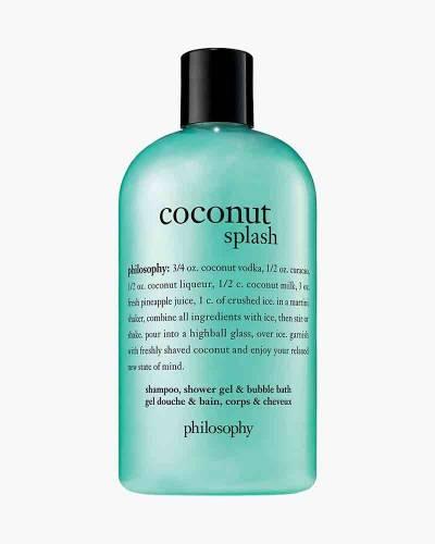 Coconut Splash Shampoo, Shower Gel, and Bubble Bath